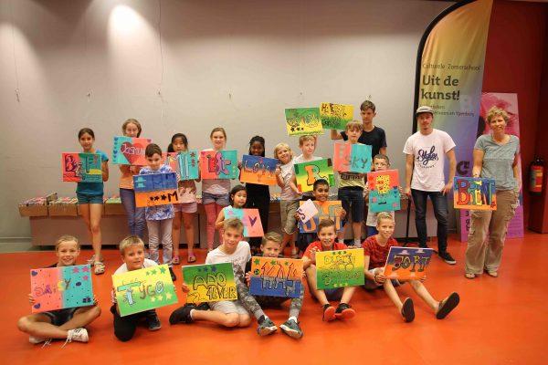 Culturele zomerschool bibliotheek Ypenburg
